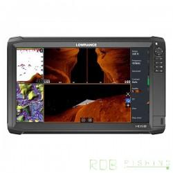 Combiné sondeur, traceur Lowrance HDS 16 CARBON avec sonde Total Scan
