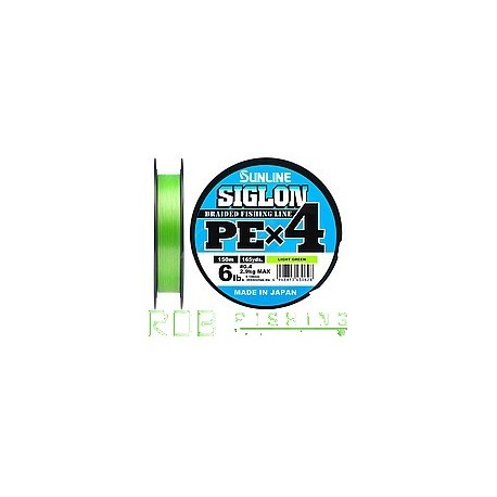 Sunline SIGLON PE X4 Light Green 150 m