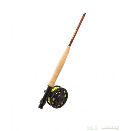Canne Snowbee Classic 8'6'' pieds (2.59 m) soie de 4-5