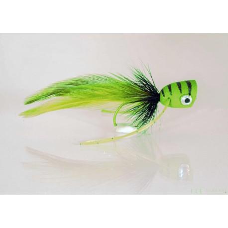 Popper - Chartreuse Black