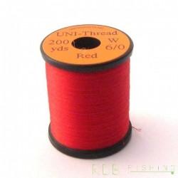 Fil de montage Uni 6/0 Red