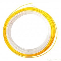Soie JMC SYMBOL R2T 7F blanc / orange fluo