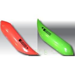 Chambre à air droite verte Seven Bass pour float tube Hard Fabric One, Def, Bolt, Air