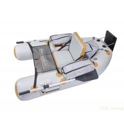 Float tube SPARROW EXPÉDITION 180 ORANGE-GRIS