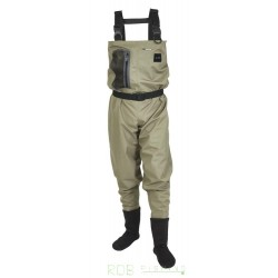 Waders respirants JMC Hydrox First V2 King Size Olive Clair S 39/40