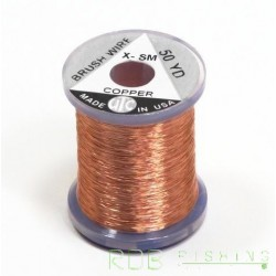 Brush Wire UTC (fil de cuivre) coloris cuivre
