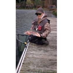 Week-end de pêche à la mouche au lac de Moselotte
