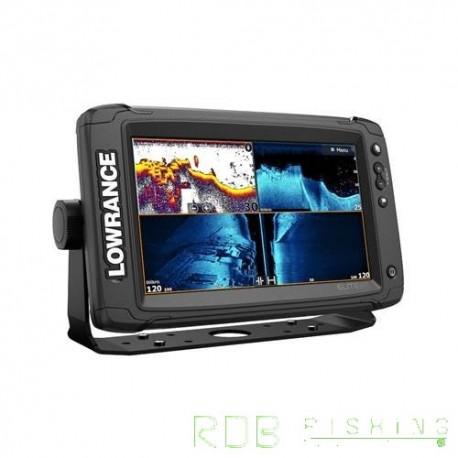 Combiné sondeur, traceur Lowrance Elite-9 Ti² avec Active Imaging 3-en-1