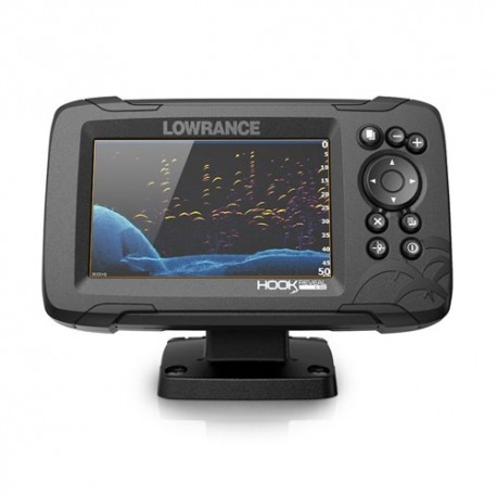 Sondeur Lowrance HOOK Reveal 5 avec sonde 83/200 HDI & Fond Cartographique
