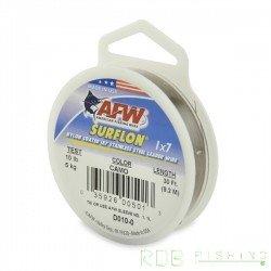 Fil acier inox 7 brins gaîné nylon SURFLON