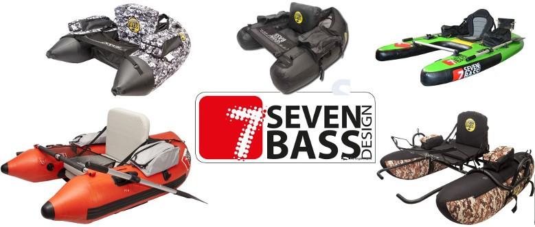 Float tubes Seven Bass