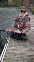 Pêche à la mouche au réservoir de la Base de Loisirs du Lac de la Moselotte octobre 2019