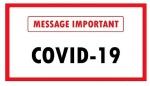 CORONAVIRUS (COVID-19) - Informations à notre clientèle