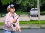 Maxine McCormick, la prodige du lancer mouche de 14 ans, a remporté le championnat du monde féminin de lancé de précision